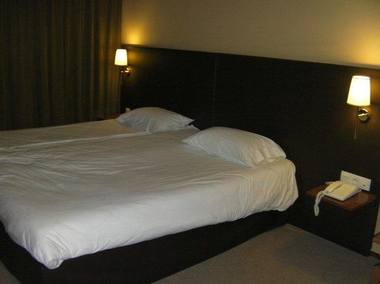 Plaza Site du Futuroscope Hotel: Lit spacieux de 2x2M