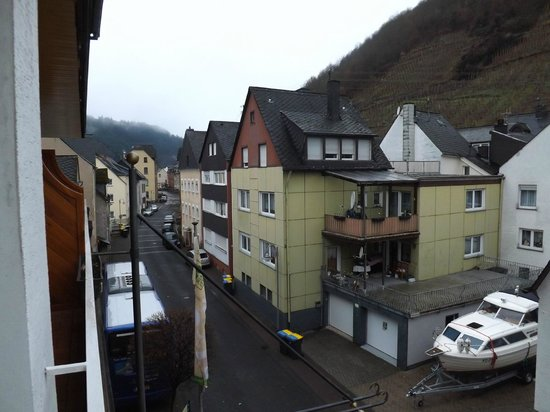 Ringhotel Bomers Mosellandhotel: View from balcony
