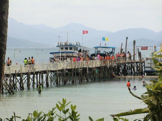 Koh Wai Pakarang Resort: nochmal Messen an Touristen