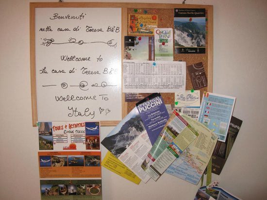 La Casa di Teresa: Welcome note