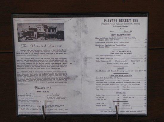 Painted Desert Inn: Ein Bier kostete damals $ 0,35!