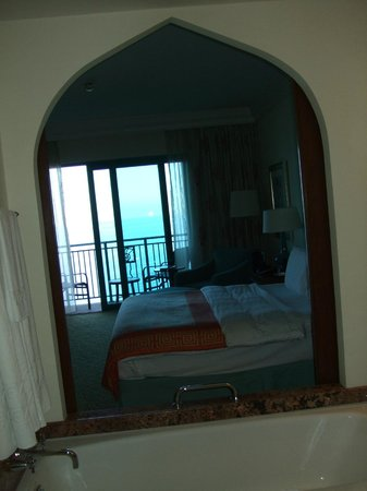 Atlantis, The Palm: View from bathroom