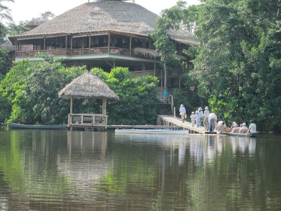 La Selva Amazon Ecolodge: The lodge
