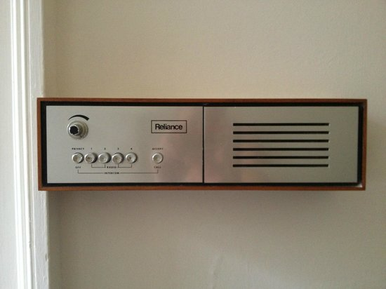 Halcyon Hotel: Retro Intercom
