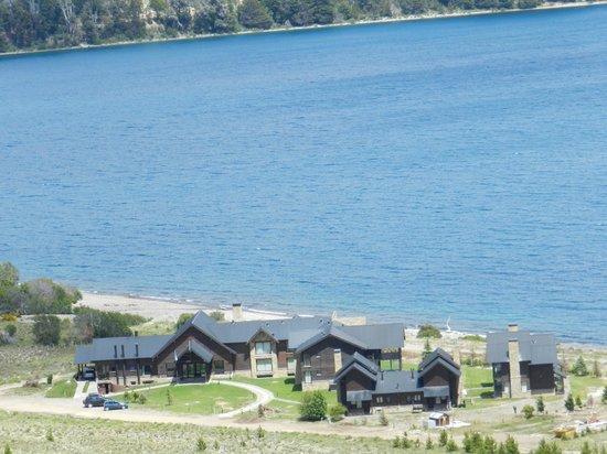 Amancio Hotel: vista desde el cerro