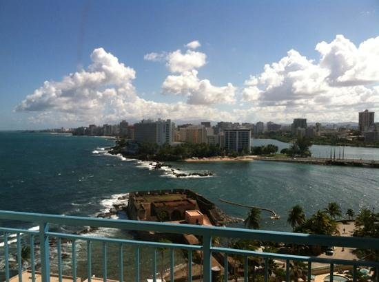 Caribe Hilton San Juan: room with a view
