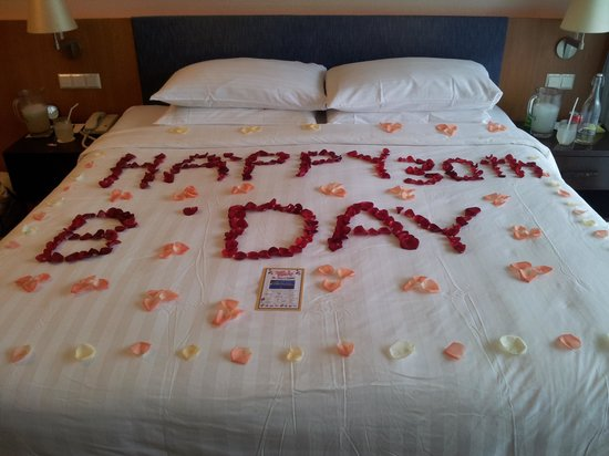 Shangri-La's Tanjung Aru Resort & Spa: Birthday surprise