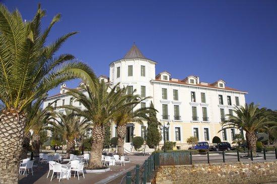 Thermae Sylla Spa & Wellness Hotel: вид с моря