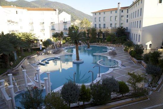 Thermae Sylla Spa & Wellness Hotel: наружный бассейн