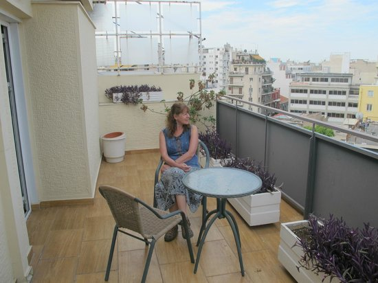 ستاليز هوتل: Balcon terraza