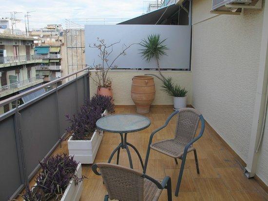 Stalis Hotel: Balcon terraza
