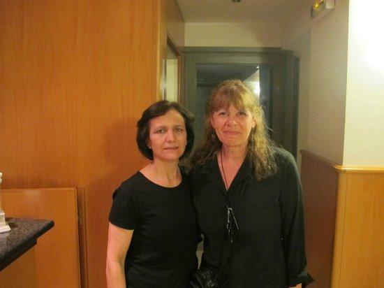 Stalis Hotel: Raymonda con Patricia