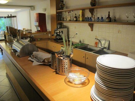 Stalis Hotel: Desayunador