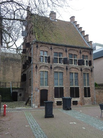 Small Old House Near Waalkade Picture Of Nijmegen Gelderland