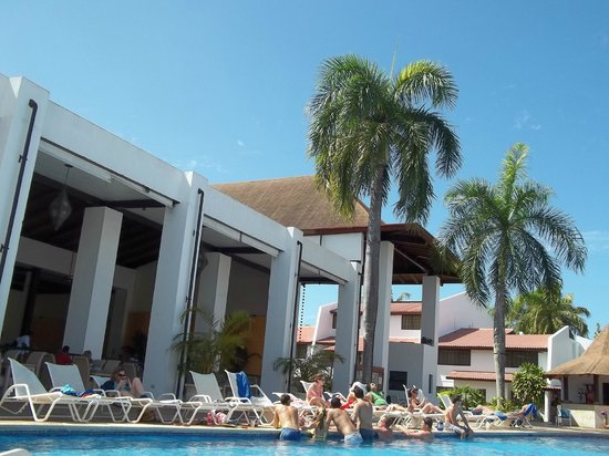 BlueBay Villas Doradas Adults Only: buffet vue ext.