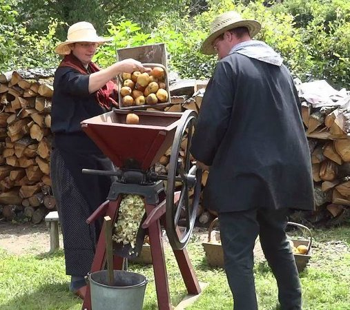 Les Amis de la Pierre de Masgot: Le pressoir a cidre