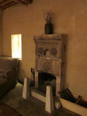 Argos In Cappadocia: Fireplace