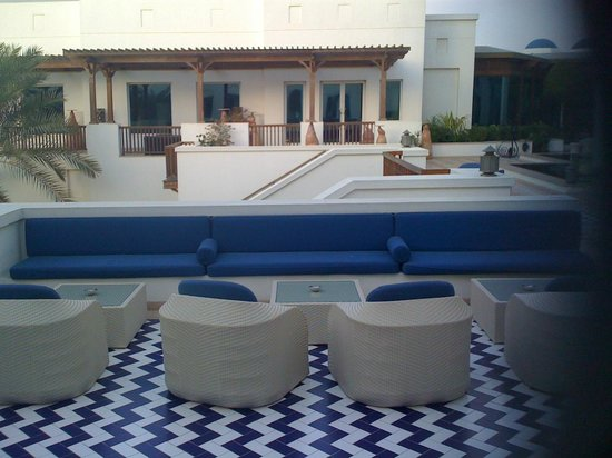 Hyatt Regency Dubai: Hotelbar Aussen