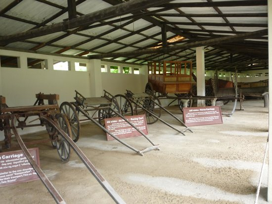 กอลล์, ศรีลังกา: Carts on exhibition