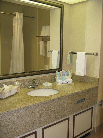 Holiday Inn Express Conover (Hickory Area) : Bath -- Holiday Inn Express, Conover, NC