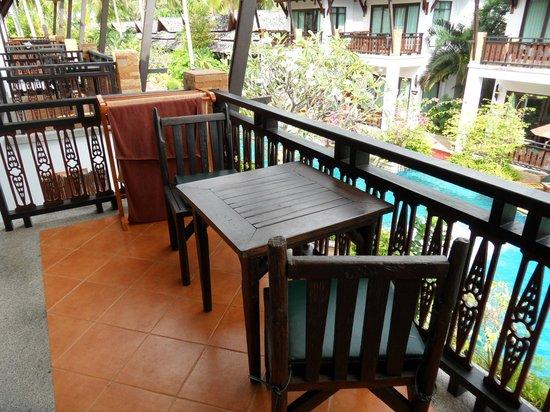 Railay Village Resort: Balkongen