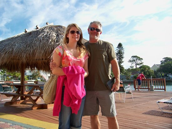 Plaza Beach Hotel - Beachfront Resort: Virginia and I at Bay Palms