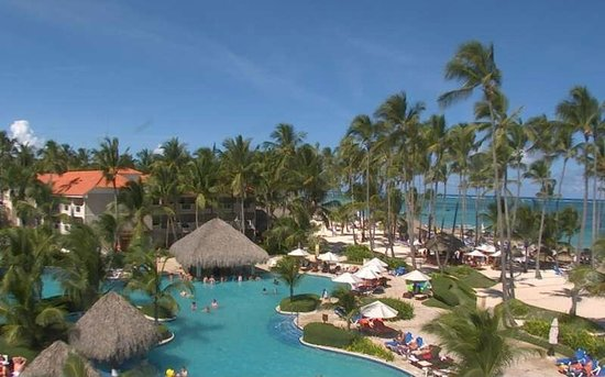 Dreams Palm Beach Punta Cana: Resort - pool and beach area