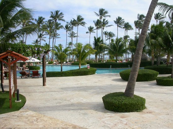 Dreams Palm Beach Punta Cana: Pool area