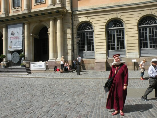 stoRy touRs : The Nobel Museum