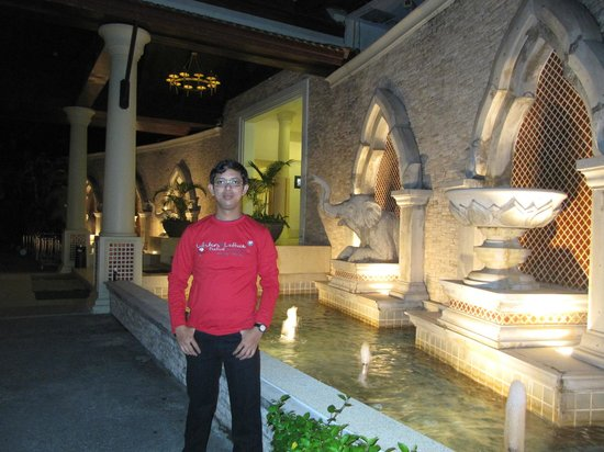 Deevana Patong Resort & Spa: In front of main gate