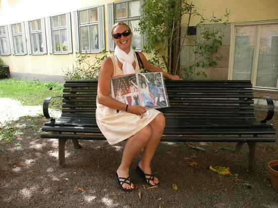 stoRy touRs : ABBA originated in Stockholm... they sat on this bench!