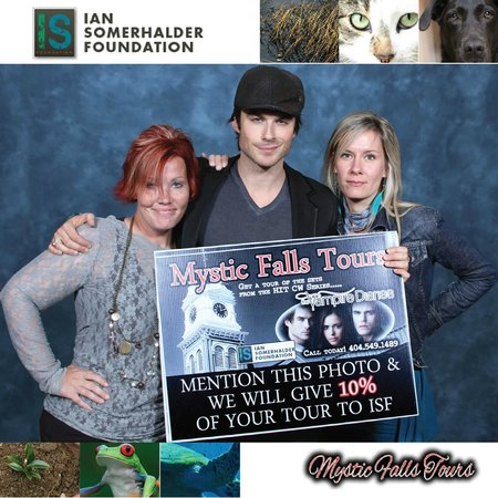 Covington, Gürcistan: 2013 Ian Somerhalder Foundation Promotion!