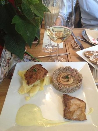 Cafe Fara : variation of traditional Czech xmas meals