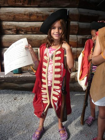 The Fort William Henry Museum & Restoration: Another costume option.
