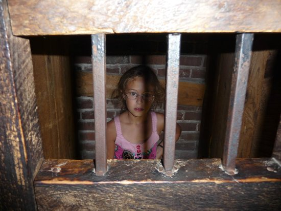 Fort William Henry: You can try a cell on for size in the dungeon!