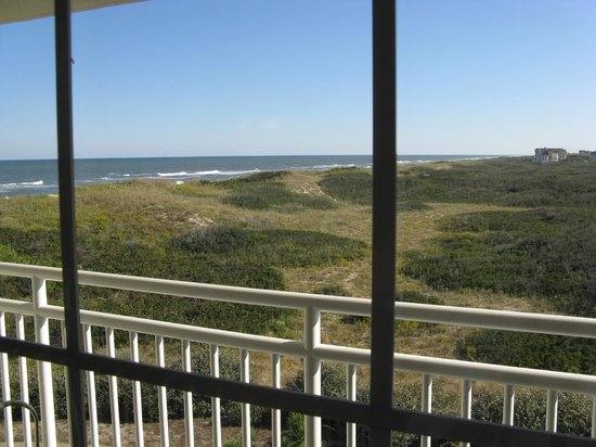 Hampton Inn & Suites Outer Banks/ Corolla: Partial Ocean View  -- Hampton Inn & Suites, Corolla, NC