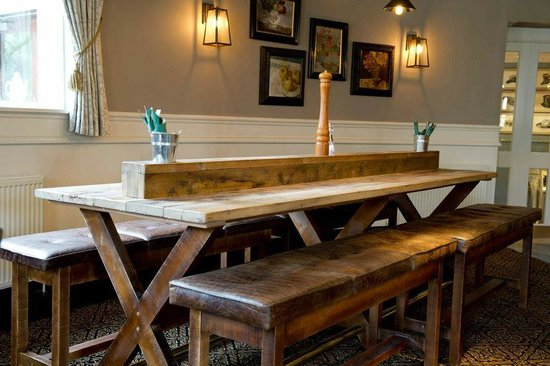 The Devonshire Arms: Just a great table