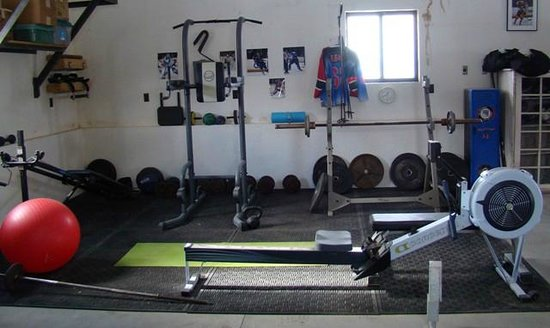 Morley's Acres Farm and Bed & Breakfast: Workout Area
