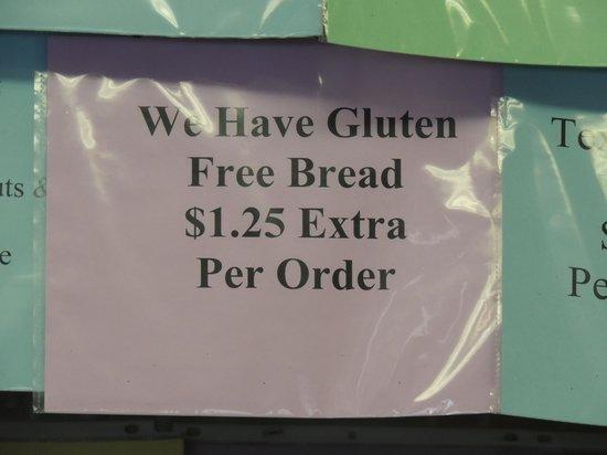 Blue Benn Diner: Gluten free me!