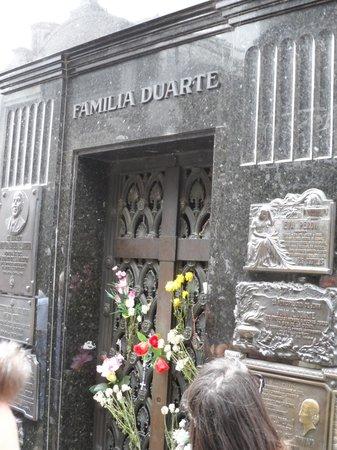 BuenosTours: Evita's Tomb
