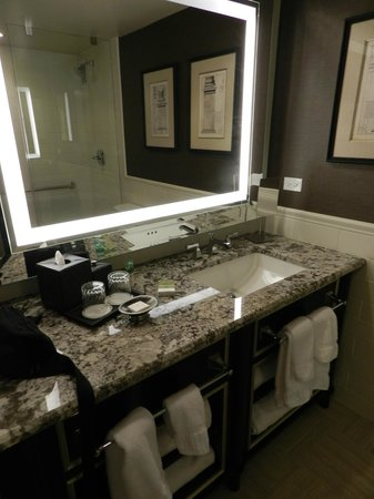 The Madison Washington DC, A Hilton Hotel: Bathroom