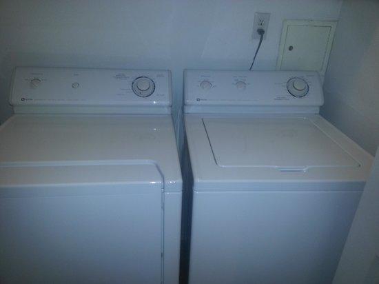 Promenade Condominium: 303 laundry