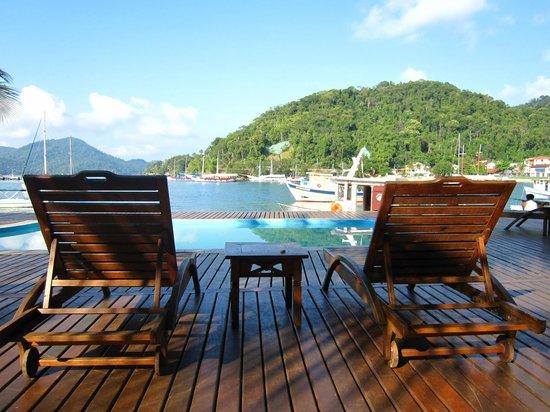 Pousada Jamanta: Vista piscina