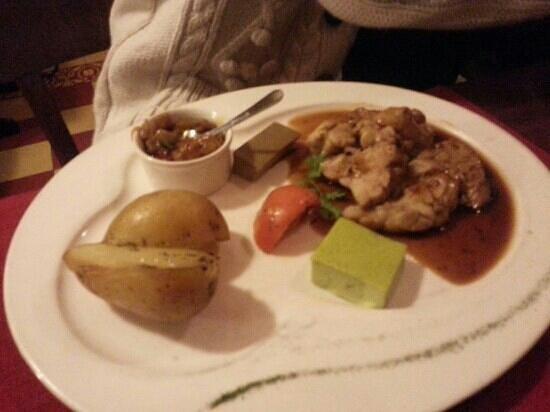 Le Bistro de l'Octroi : riz de veau sauce aux truffes