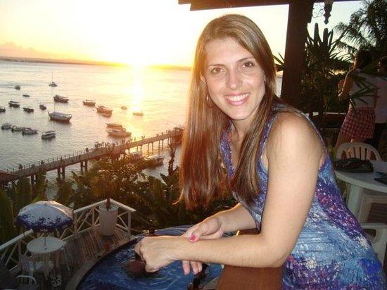 Pousada Perola Do Morro: Elisa (Pôr do Sol em Morro)