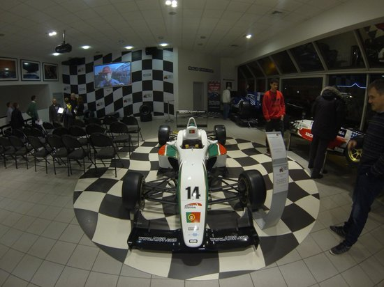 Lets Race: Main room 1