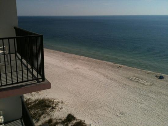 Hampton Inn & Suites Orange Beach: View from 9th floor balcony