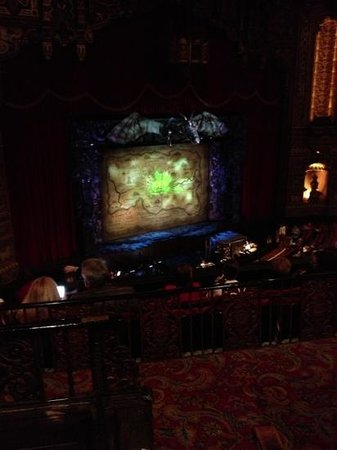 The Fox Theatre : Wicked at the Fabolous Fox