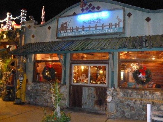 Schooners Wharf : Schooners Restaurant at Christmas time