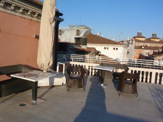 Hotel a La Commedia: roof top of la a commedia